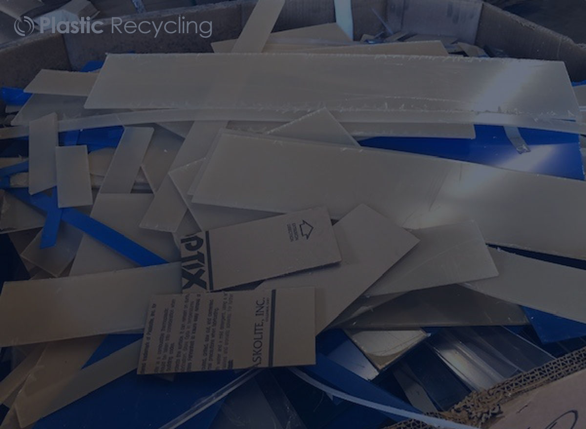Recycle Clear Extrusion Cutoffs